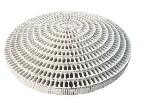 大开孔率组合瓷球拱