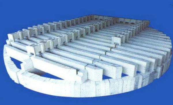 全瓷条梁与格栅组合体